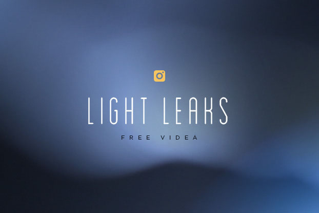 Light leaks: modré video efekty zdarma